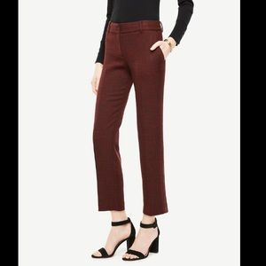 NWT Ann Taylor The Ankle Pant In Devin Fit